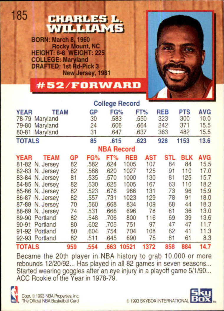 1993-94-Hoops-Fifth-Anniversary-Gold-Basketball-Cards-1-249-Pick-From-List thumbnail 245
