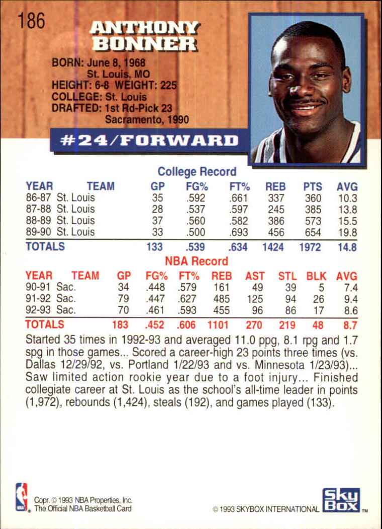 1993-94-Hoops-Fifth-Anniversary-Gold-Basketball-Cards-1-249-Pick-From-List thumbnail 247
