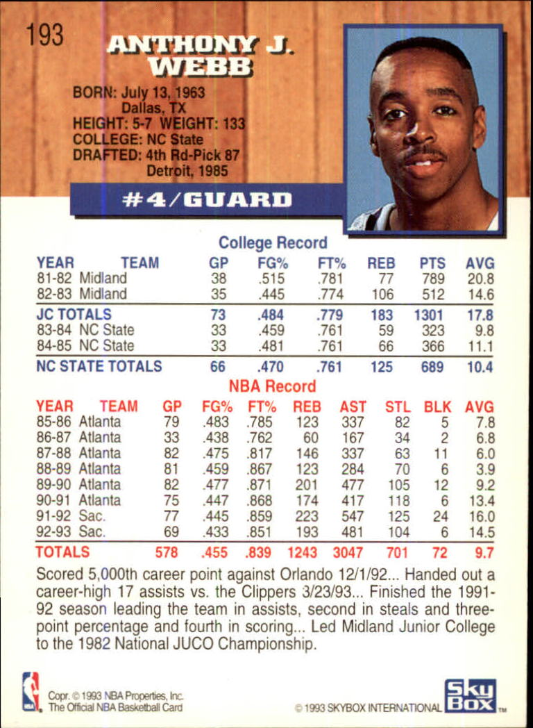 1993-94-Hoops-Fifth-Anniversary-Gold-Basketball-Cards-1-249-Pick-From-List thumbnail 255