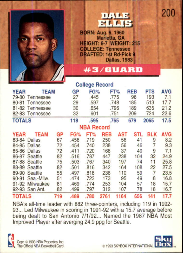1993-94-Hoops-Fifth-Anniversary-Gold-Basketball-Cards-1-249-Pick-From-List thumbnail 259
