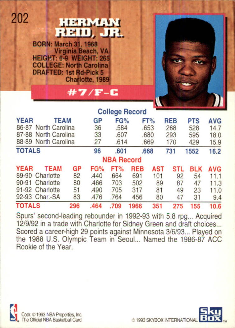 1993-94-Hoops-Fifth-Anniversary-Gold-Basketball-Cards-1-249-Pick-From-List thumbnail 263
