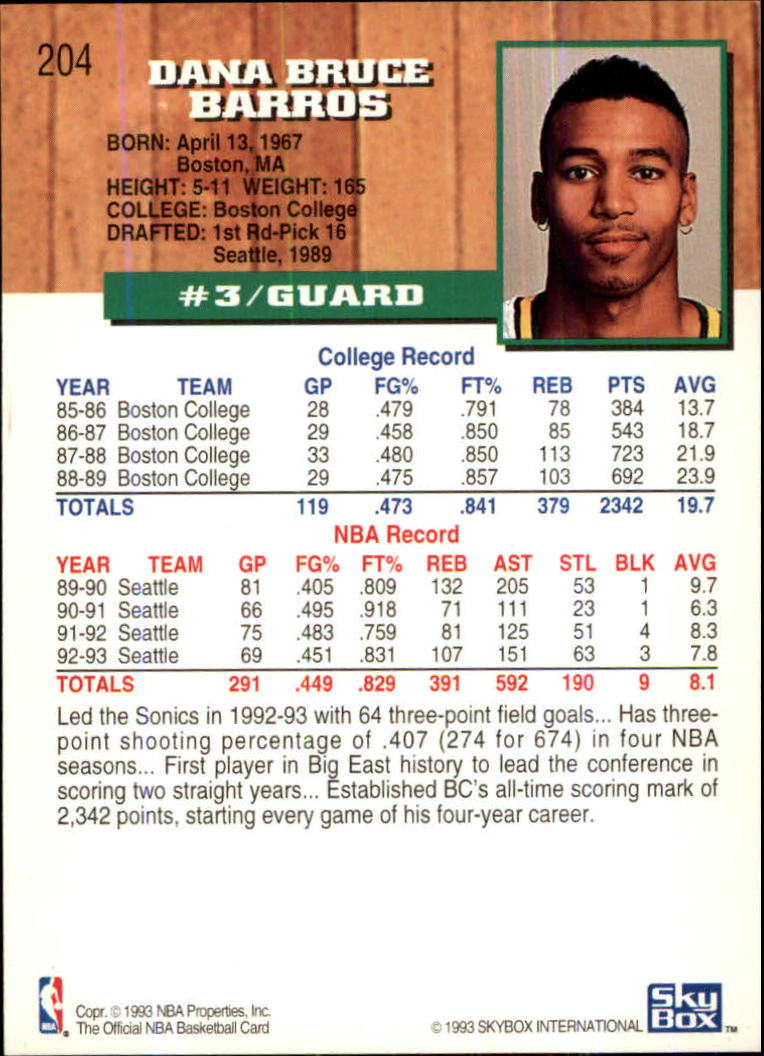 1993-94-Hoops-Fifth-Anniversary-Gold-Basketball-Cards-1-249-Pick-From-List thumbnail 265