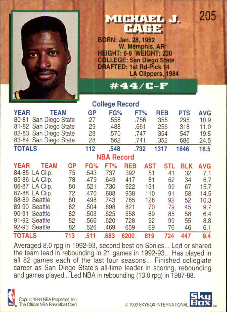 1993-94-Hoops-Fifth-Anniversary-Gold-Basketball-Cards-1-249-Pick-From-List thumbnail 267