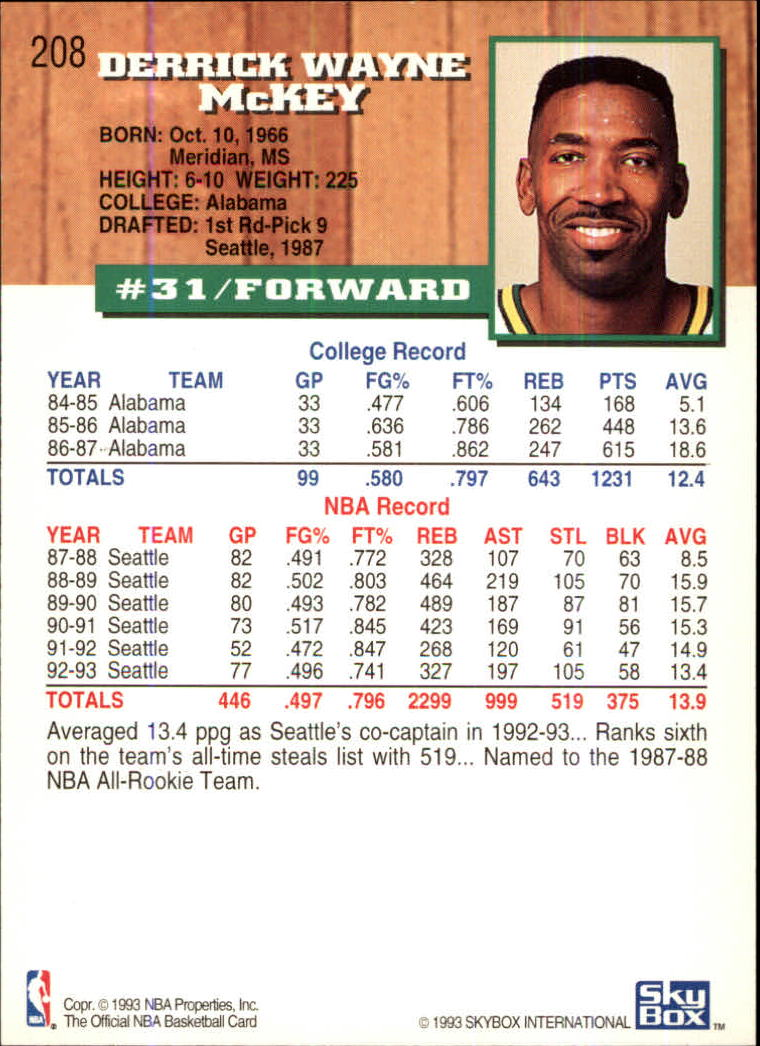 1993-94-Hoops-Fifth-Anniversary-Gold-Basketball-Cards-1-249-Pick-From-List thumbnail 269