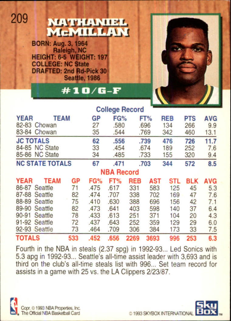 1993-94-Hoops-Fifth-Anniversary-Gold-Basketball-Cards-1-249-Pick-From-List thumbnail 271