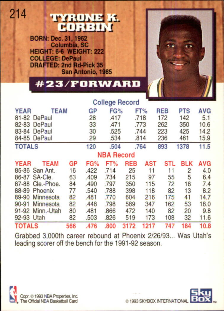 1993-94-Hoops-Fifth-Anniversary-Gold-Basketball-Cards-1-249-Pick-From-List thumbnail 277