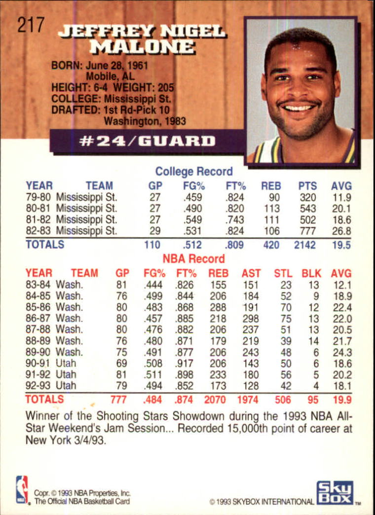 1993-94-Hoops-Fifth-Anniversary-Gold-Basketball-Cards-1-249-Pick-From-List thumbnail 279
