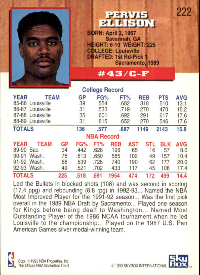 1993-94-Hoops-Fifth-Anniversary-Gold-Basketball-Cards-1-249-Pick-From-List thumbnail 283