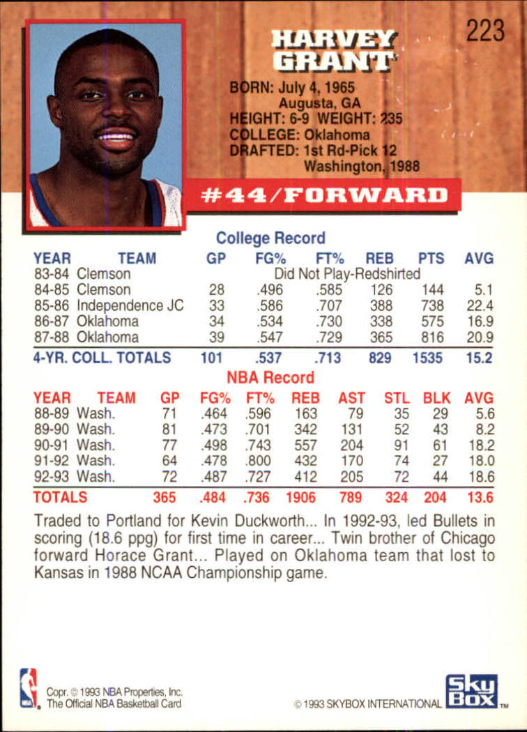 1993-94-Hoops-Fifth-Anniversary-Gold-Basketball-Cards-1-249-Pick-From-List thumbnail 285
