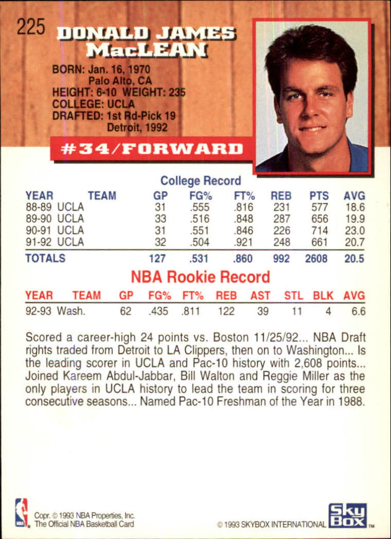 1993-94-Hoops-Fifth-Anniversary-Gold-Basketball-Cards-1-249-Pick-From-List thumbnail 289