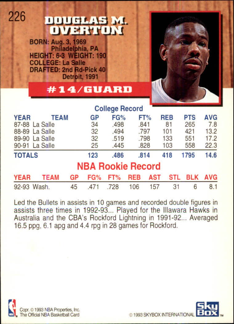 1993-94-Hoops-Fifth-Anniversary-Gold-Basketball-Cards-1-249-Pick-From-List thumbnail 291