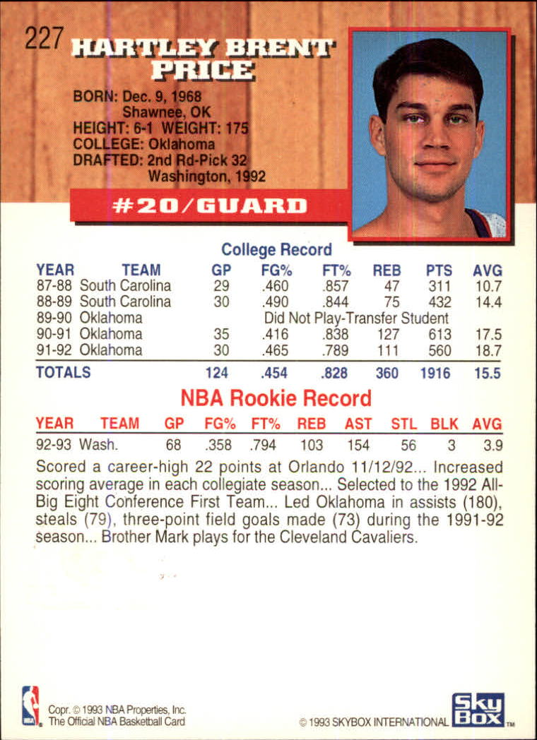 1993-94-Hoops-Fifth-Anniversary-Gold-Basketball-Cards-1-249-Pick-From-List thumbnail 293