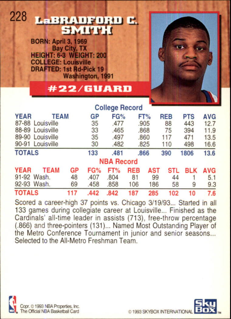 1993-94-Hoops-Fifth-Anniversary-Gold-Basketball-Cards-1-249-Pick-From-List thumbnail 295