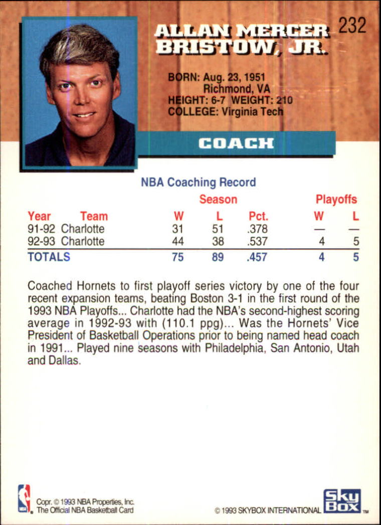 1993-94-Hoops-Fifth-Anniversary-Gold-Basketball-Cards-1-249-Pick-From-List thumbnail 301