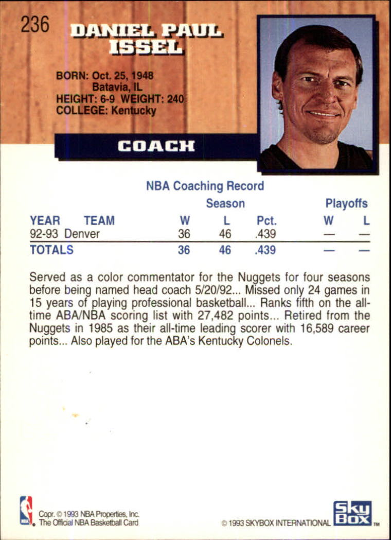 1993-94-Hoops-Fifth-Anniversary-Gold-Basketball-Cards-1-249-Pick-From-List thumbnail 307