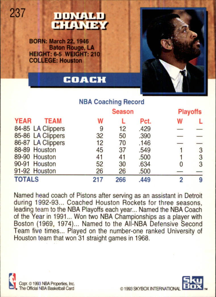 1993-94-Hoops-Fifth-Anniversary-Gold-Basketball-Cards-1-249-Pick-From-List thumbnail 309