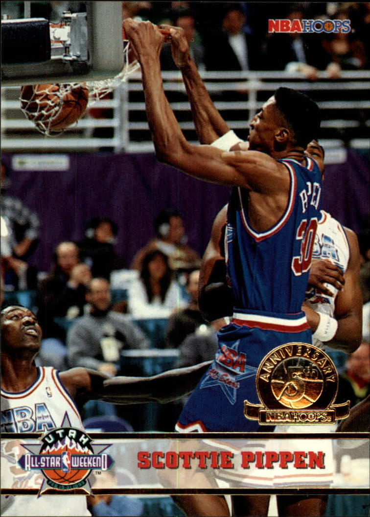 1993-94 Hoops Fifth Anniversary Gold #259 Scottie Pippen AS