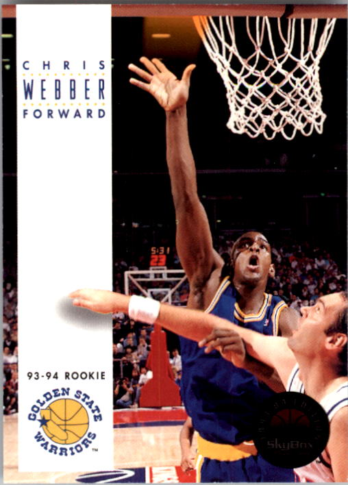 1993-94 SkyBox Premium #227 Chris Webber RC