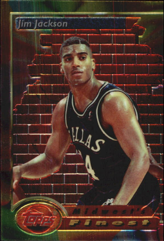 1993-94 Finest #116 Jim Jackson MF