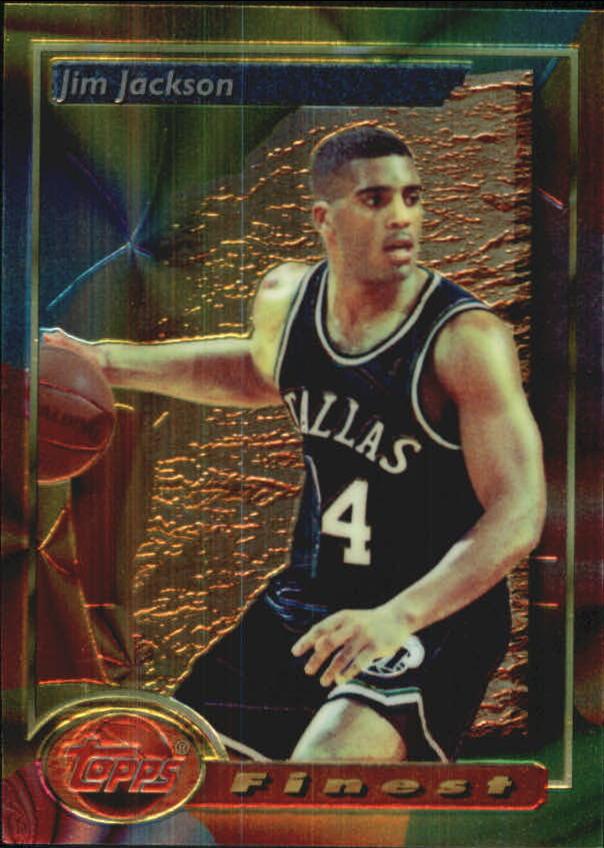 1993-94 Finest #136 Jim Jackson