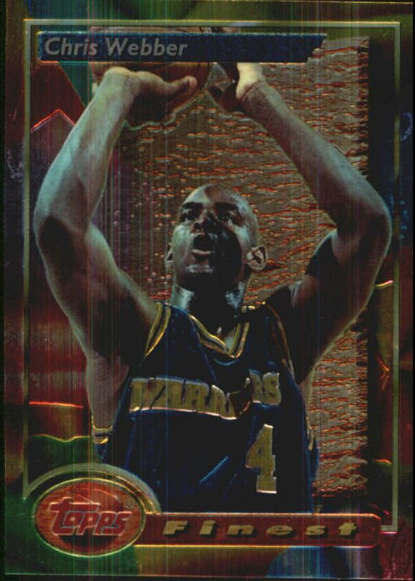 1993-94 Finest #212 Chris Webber RC