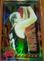 1993-94 Finest Refractors #2 Larry Bird