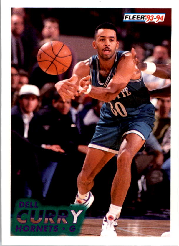 1993-94 Fleer #18 Dell Curry