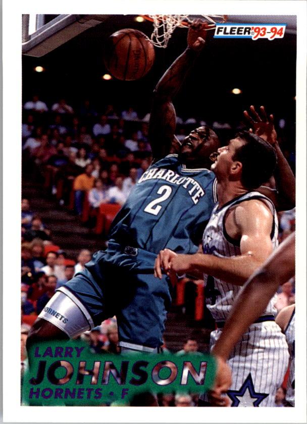 1993-94 Fleer #21 Larry Johnson