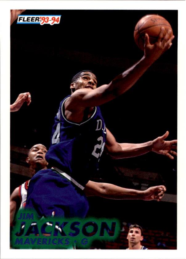 1993-94 Fleer #46 Jim Jackson