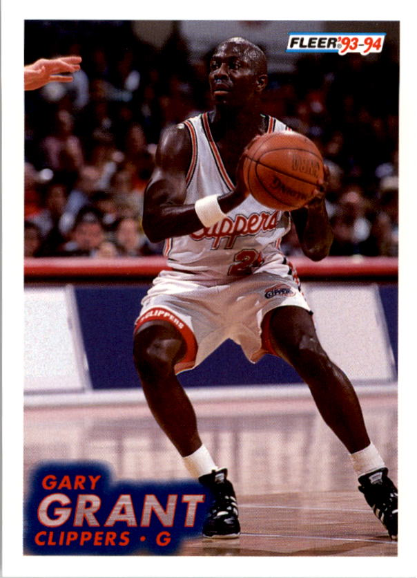 1993-94 Fleer #90 Gary Grant