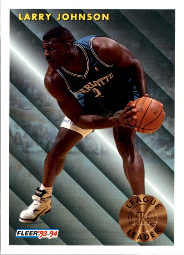 1993-94 Fleer #223 Larry Johnson LL