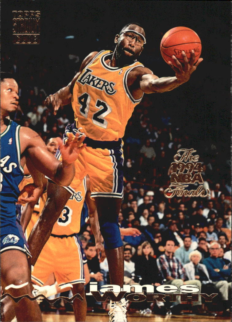 1993-94 Stadium Club Super Teams NBA Finals #91 James Worthy