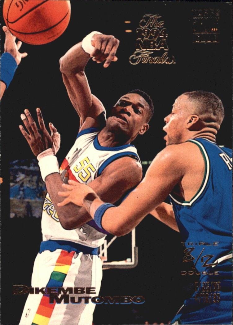 1993-94 Stadium Club Super Teams NBA Finals #109 Dikembe Mutombo TD
