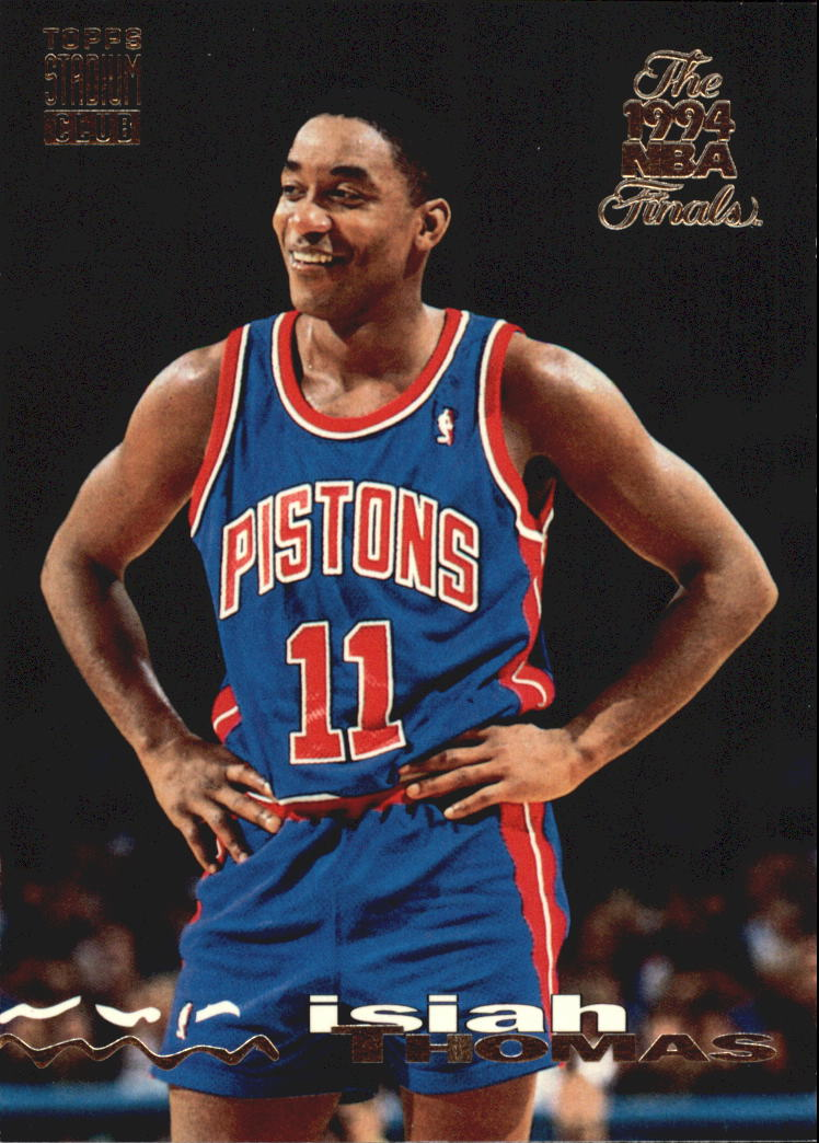 1993-94 Stadium Club Super Teams NBA Finals #149 Isiah Thomas