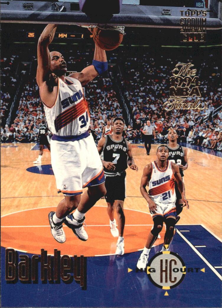 1993-94 Stadium Club Super Teams NBA Finals #177 Charles Barkley HC