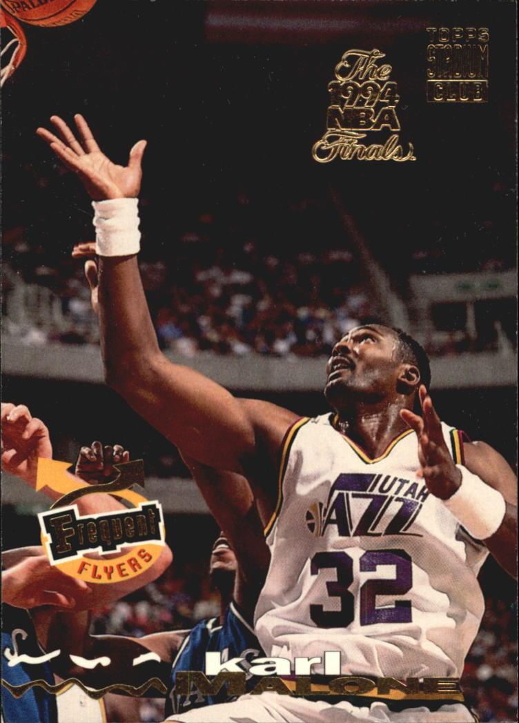 1993-94 Stadium Club Super Teams NBA Finals #186 Karl Malone FF