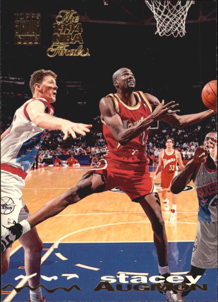 1993-94 Stadium Club Super Teams NBA Finals #310 Stacey Augmon