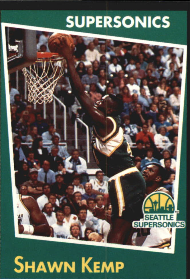 1993-94 Panini Stickers #61 Shawn Kemp