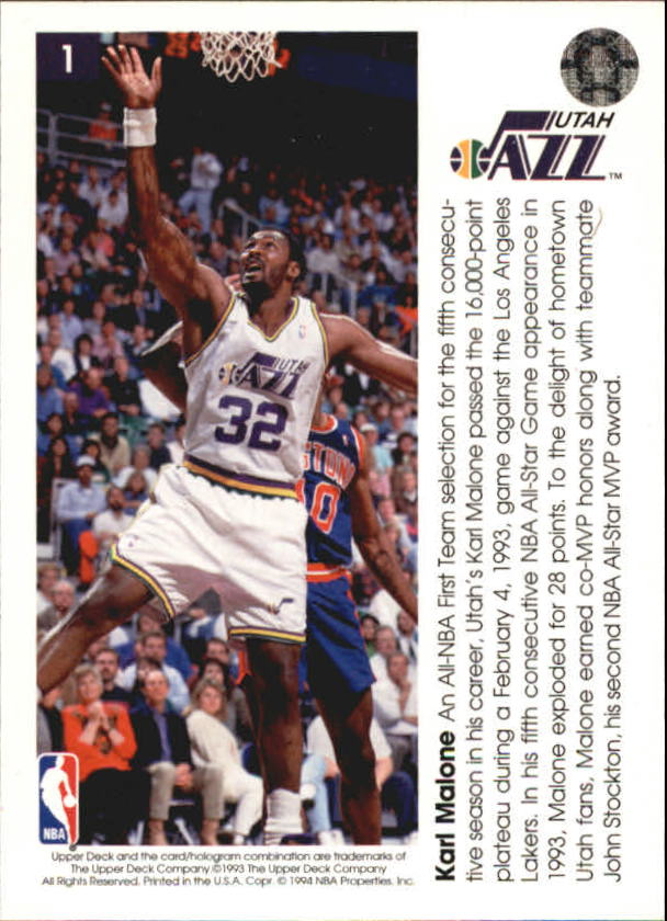 1993-94-Upper-Deck-Pro-View-Basketball-Cards-Pick-From-List thumbnail 3