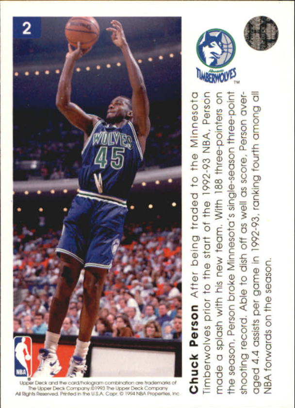 1993-94-Upper-Deck-Pro-View-Basketball-Cards-Pick-From-List thumbnail 5