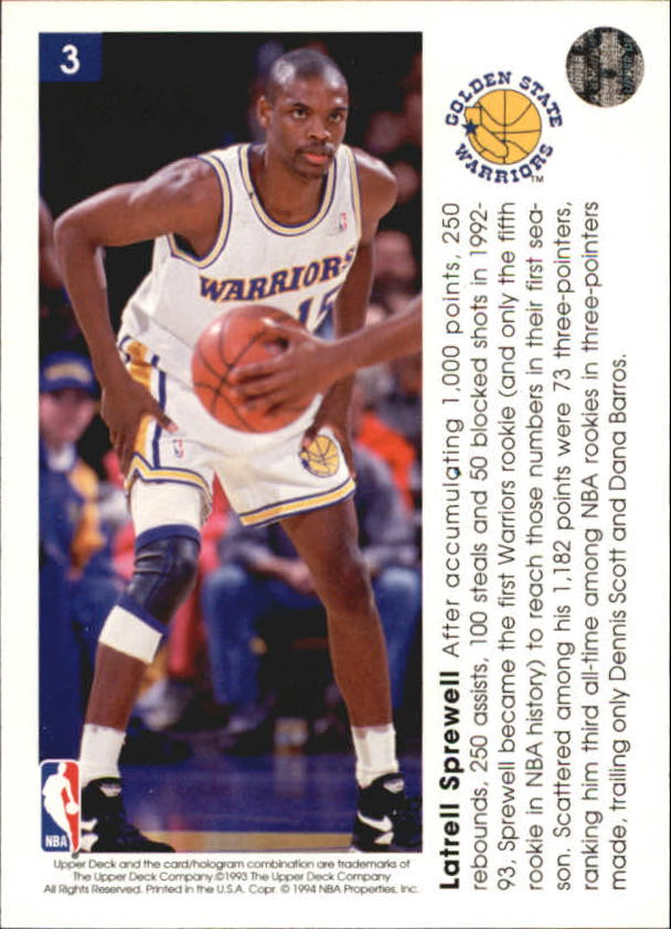 1993-94-Upper-Deck-Pro-View-Basketball-Cards-Pick-From-List thumbnail 7