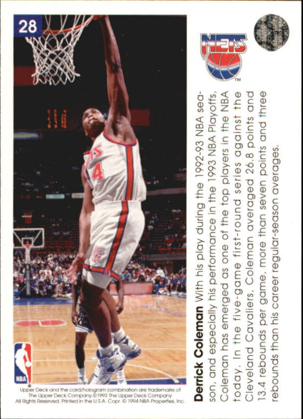 1993-94-Upper-Deck-Pro-View-Basketball-Cards-Pick-From-List thumbnail 49