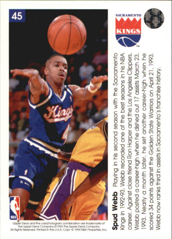 1993-94-Upper-Deck-Pro-View-Basketball-Cards-Pick-From-List thumbnail 73