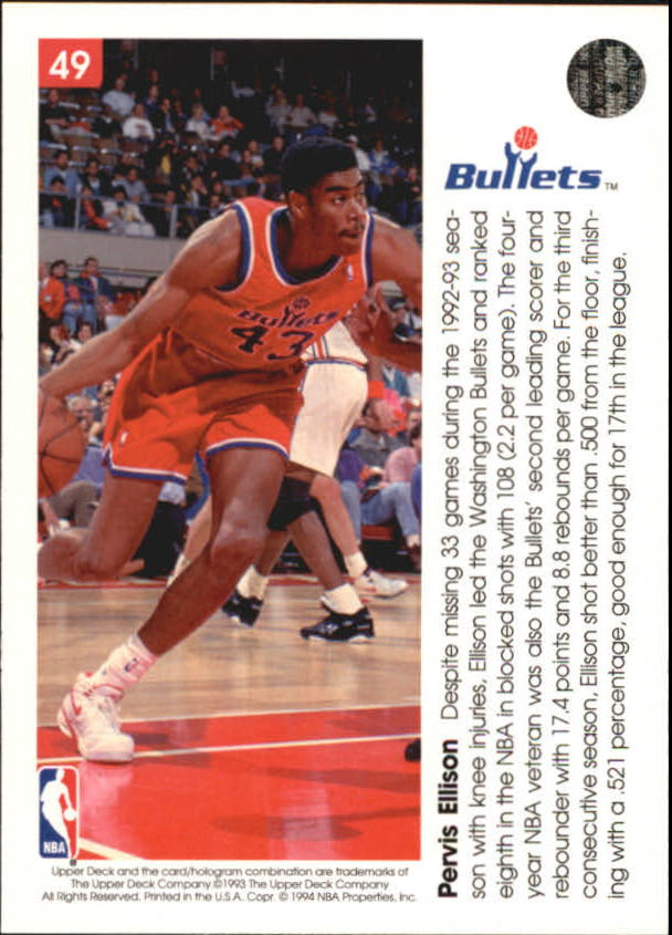 1993-94-Upper-Deck-Pro-View-Basketball-Cards-Pick-From-List thumbnail 81