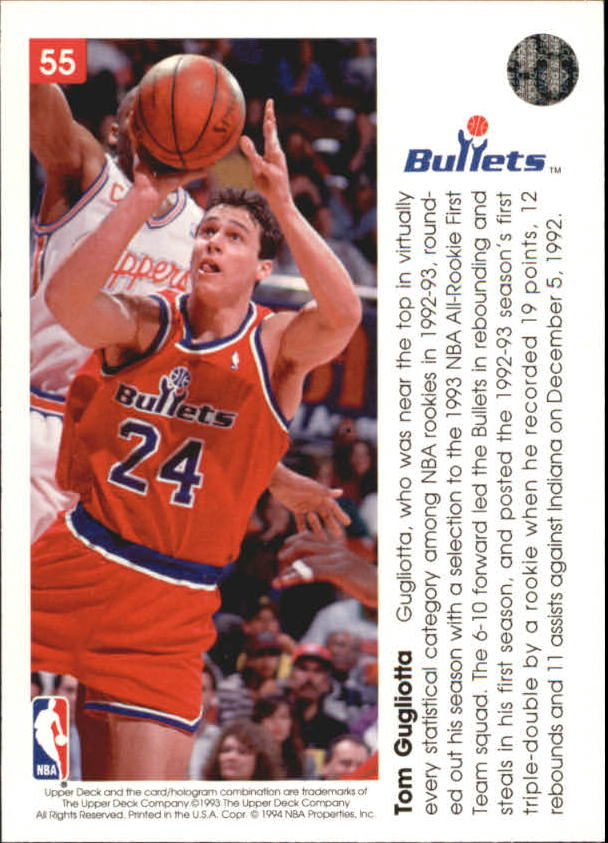 1993-94-Upper-Deck-Pro-View-Basketball-Cards-Pick-From-List thumbnail 93