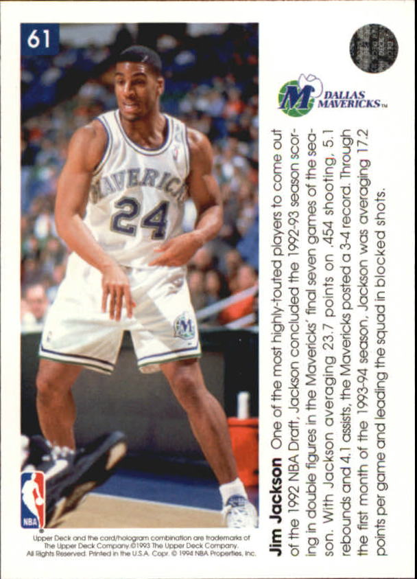 1993-94-Upper-Deck-Pro-View-Basketball-Cards-Pick-From-List thumbnail 105