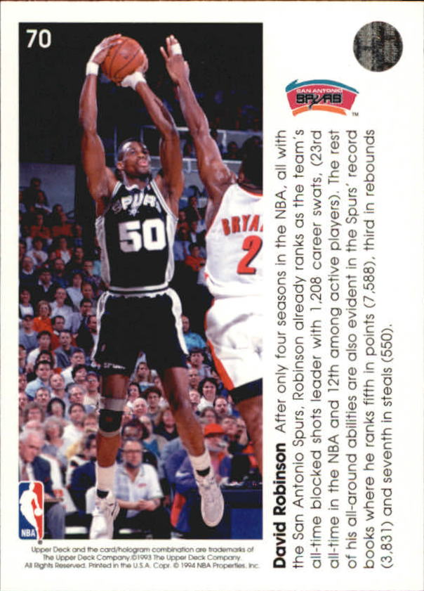 1993-94-Upper-Deck-Pro-View-Basketball-Cards-Pick-From-List thumbnail 121