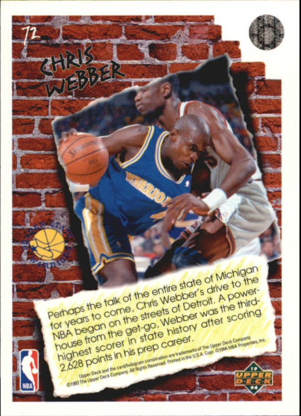 1993-94-Upper-Deck-Pro-View-Basketball-Cards-Pick-From-List thumbnail 125