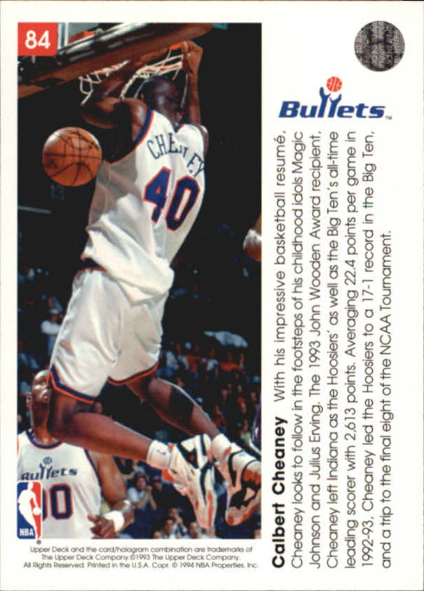 1993-94-Upper-Deck-Pro-View-Basketball-Cards-Pick-From-List thumbnail 143