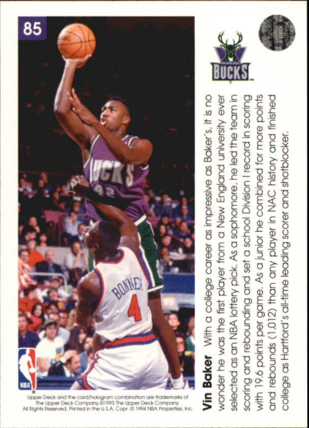 1993-94-Upper-Deck-Pro-View-Basketball-Cards-Pick-From-List thumbnail 145